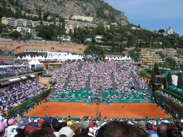 tennis nadal e ramos si contendono montecarlo