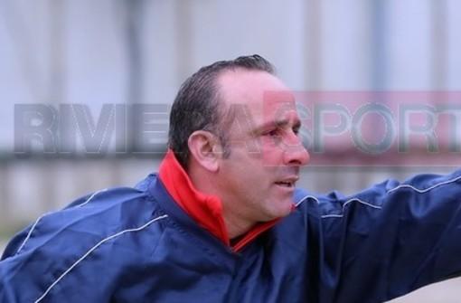 Carmelo Luci, allenatore del Taggia