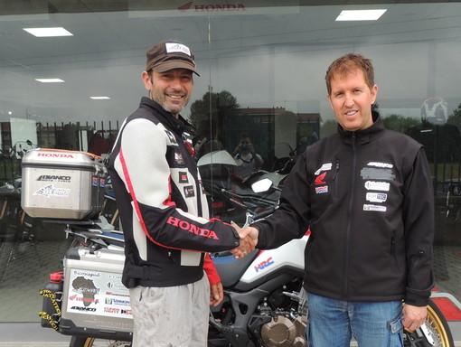 Accordo tra Franco Ballatore ed il Team Racing Team