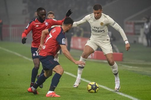 Losc Lille - Paris Saint Germain, una fase di gioco (foto tratta dal sito del Losc Lille)