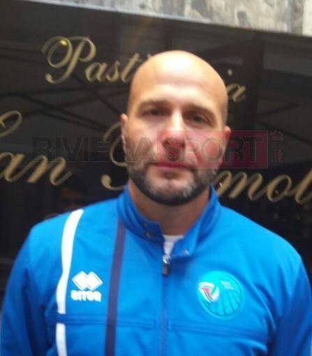 Massimiliano Ciogli, allenatore del Grafiche Amadeo Sanremo targato Serie C maschile