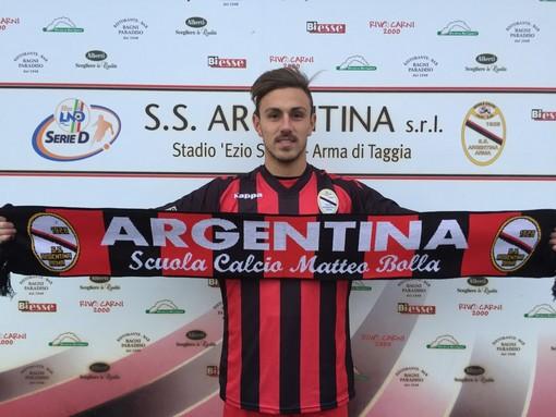 Matteo Martelli, quest'anno in forza all'Argentina Arma