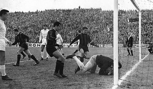 """Lo """"storico"""" incontro di Coppa fra Nizza e Real Madrid (foto sito OGC Nice)"""