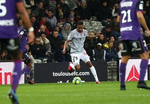 Tolosa-Nizza, una fase di gioco (foto tratta dal sito dell'OGC Nice)