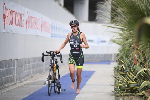 Vittoria Bergamini, tesserata Riviera Triathlon 1992
