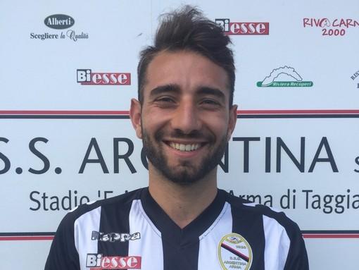 Domenico Vitiello, ex attaccante della Sanremese: ha firmato per il Seravezza Pozzi