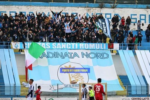 Calcio, Serie D. Aspettando Sanremese-Prato: la Gradinata Nord chiama a raccolta la tifoseria biancoazzurra
