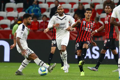 Nice - Bordeaux, una fase di gioco (foto tratta dal sito dell'OGC Nice)