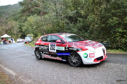 Rallye Sanremo, dopo nove speciali Campedelli-Canton ancora davanti a tutti