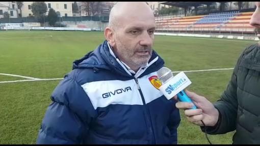 Andrea Caverzan, ex allenatore di Ventimiglia e Finale