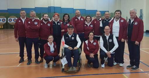 Tiro con l'Arco: ottimi risultati per gli atleti dell'Archery Club Ventimiglia alla gara di Peveragno