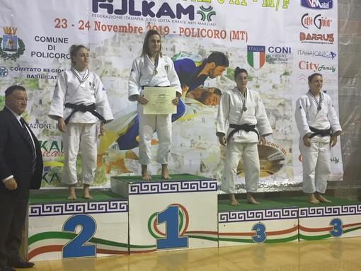 Arti marziali. CS Judo Sanremo e Druento, grande risultato per Alessia Trespine: è medaglia di bronzo alle finali nazionali della Coppa Italia