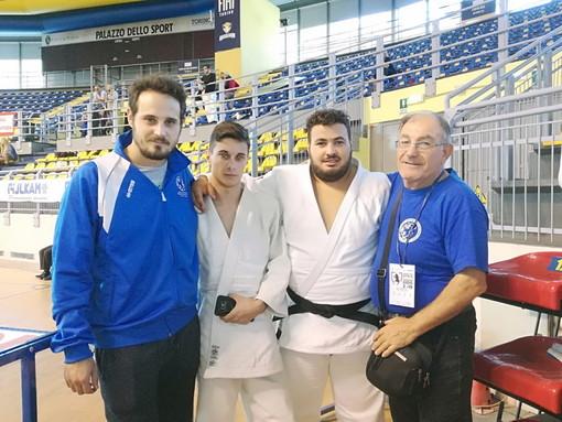 Judo Club Sakura Arma di Taggia A.S.D: al 'Grand Prix Ju/Se Città di Torino', secondo posto per Samuele Della Torre e buon comportamento per Alessio Bollo (9° class.) e Mattia Cicala (12° class.)
