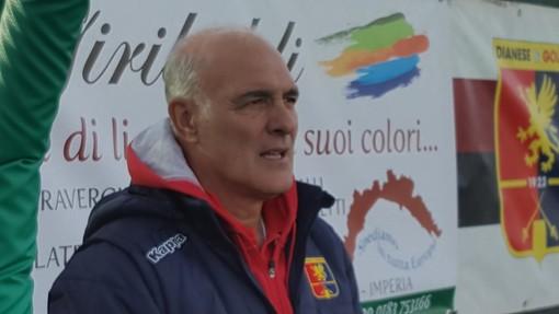 Alfredo Bencardino, allenatore della Dianese & Golfo