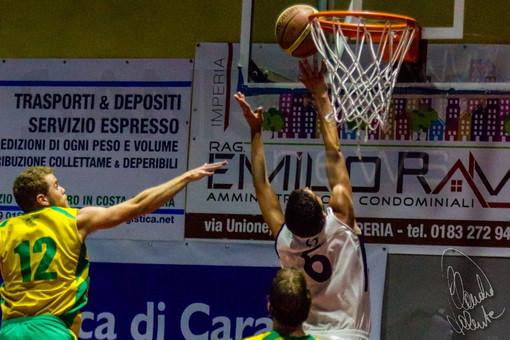 """Basket, play-off Serie D. Imperia Riviera dei Fiori cede gara 1 all'Alcione Rapallo (70-79). Coach Risso: """"Giocato male il primo tempo"""""""