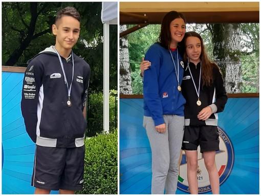 L'imperiese Federico Bosticco e la dianese Martina Trevia ai Nazionali Giovanili di Nuoto
