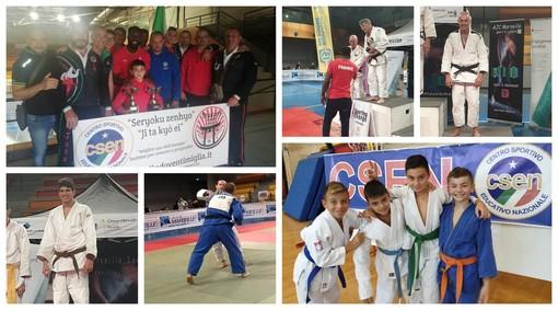 Arti marziali. Tsukuri Judo Ventimiglia, fine settimana ricco di medaglie al Torneo di Marsiglia (FOTO)