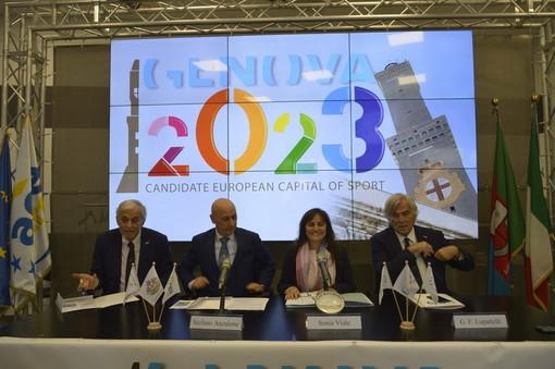 """Genova si candida come Capitale Europea dello Sport 2023: Viale """"Un'opportunità per tutta la Liguria"""" (Foto e Video)"""