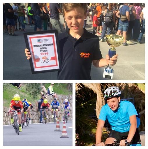 Edoardo e Fabiano Orengo, promesse di Badalucco del ciclismo