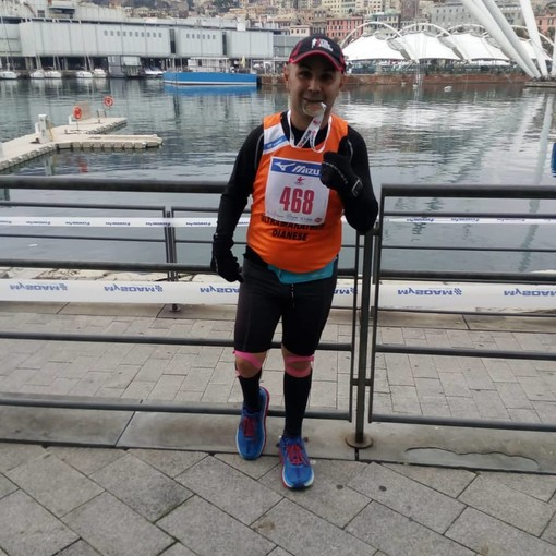 Cristian Mallardo, grande Maratona a Genova per l'atleta dianese