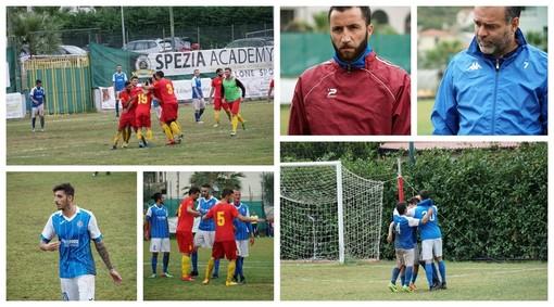 Calcio, Promozione. Taggia-Ceriale 2-1: riviviamo la sfida del 'Marzocchini' negli scatti del match (FOTO)