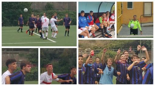 Calcio giovanile. Juniores, Imperia-Genova Calcio è un rocambolesco 3-3 (FOTO)