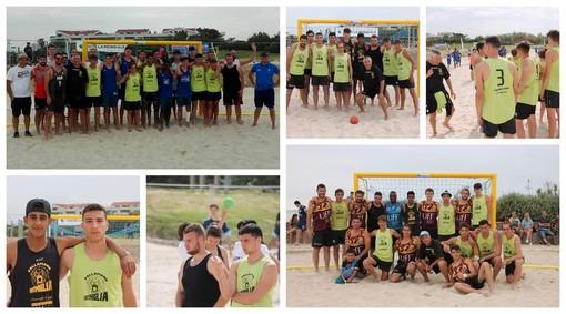 Beach Handball. La Liguria di Pippo Malatino brilla. E che spettacolo l'amichevole con la Nazionale A della Francia (FOTO)