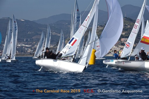 Vela. Torna allo Yacht Club Sanremo la The Carnival Race 2020