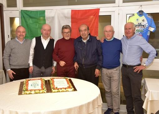 Il Consiglio Direttivo dell'UC Sanremo al completo