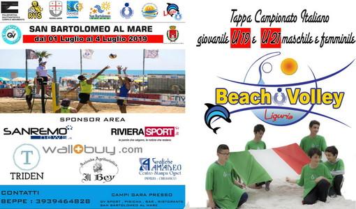 Beach Volley: la prossima settimana San Bartolomeo al Mare sarà la capitale del beach volley giovanile