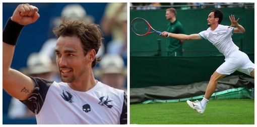 L'armese Fabio Fognini e il sanremese Gianluca Mager per la prima volta insieme in un torneo singolare ATP