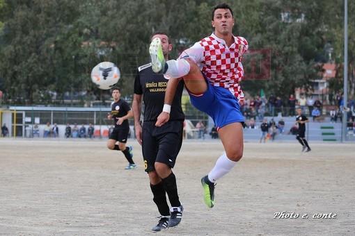 Giuseppe Gallo, attaccante del Don Bosco Valle Intemelia (foto Eugenio Conte)