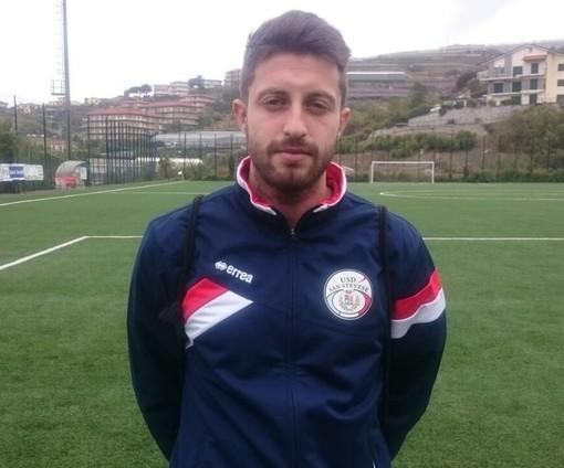 Nella foto Diego Rossi, centrocampista con il fiuto per il gol della Sanstevese