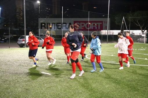 Elisa Cerato, attaccante del Don Bosco Valle Intemelia, tra le protagoniste della sfida di calcio a 5 contro il Priamar