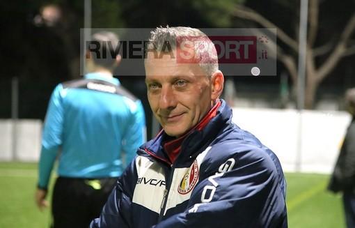 Ivan Busacca, allenatore del Don Bosco Valle Intemelia femminile