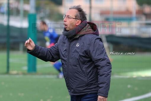 Diego Bevilacqua sarà l'allenatore del Ventimiglia Juniores (foto Eugenio Conte)