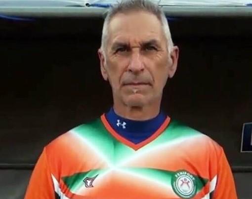 Enrico Pionetti, preparatore dei portieri della Nigeria al Mondiale in Russia. In passato ha giocato nell'Imperia e allenato gli estremi difensori della Sanremese
