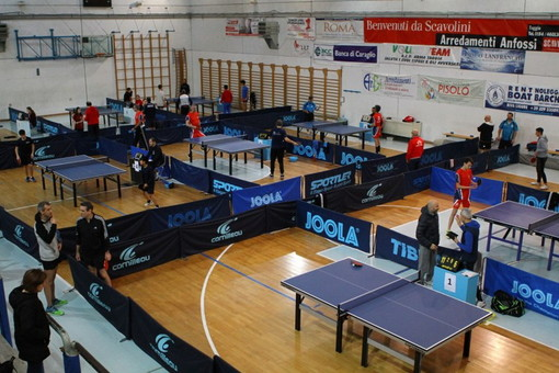 Tennistavolo: domenica scorsa a Taggia la 3a prova del 'Gran Prix Liguria', i risultati (Foto)