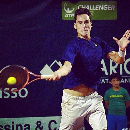 Il tennista sanremese Gianluca Mager