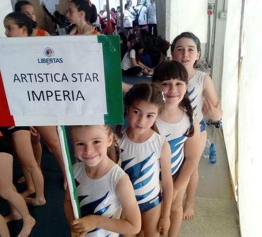 Trasferta ricca di soddisfazioni per le giovani ginnaste dell'artistica 'Star' di San Bartolomeo al Mare a Cesenatico