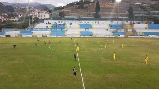 Calcio, Coppa Italia Serie D. Sanremese all'ultimo respiro: Savona battuto nel recupero