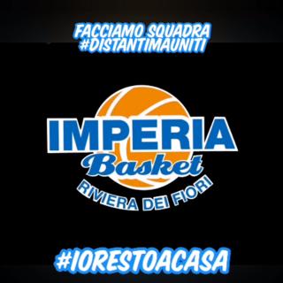 #iorestoacasa. Il BKI Imperia lontano ma unito: il VIDEO messaggio della compagine di pallacanestro