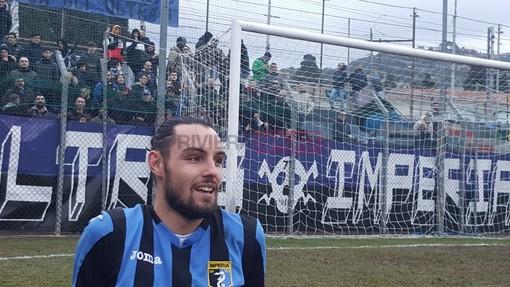 Luca Donaggio, attaccante dell'Imperia, verso il totale recupero in vista della sfida contro il Sestri Levante