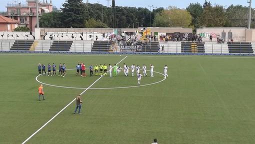 Calcio, Eccellenza. Trionfo Albenga nel derby, Imperia battuto 3-1