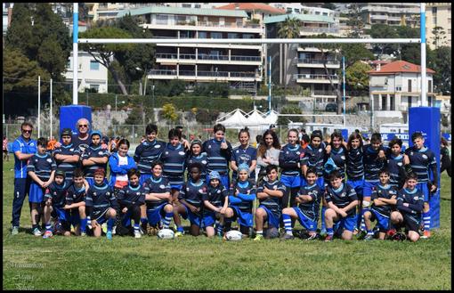 Imperia Rugby, l'Under 12 senza limiti anche al festival del rugby di Sanremo