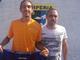 Pietro Minasso con Chiarlone nella scorsa stagione: il classe 2001 potrebbe restare ad Imperia anche nella prossima stagione