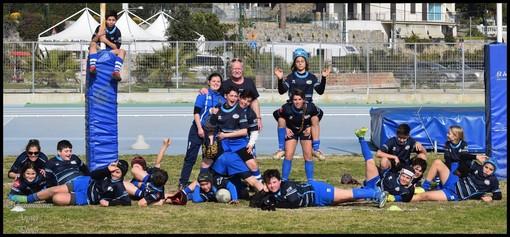 """Imperia Rugby, la formazione Under 12 è inarrestabile. Coach Castaldo: """"L'aspetto più difficile del mio ruolo è sicuramente quella di trovare una linea comune di gestione"""""""