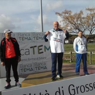 Atletica. Sanremo festeggia Ino Abbo, vincitore della 20 chilometri agli Italiani Master di Grosseto