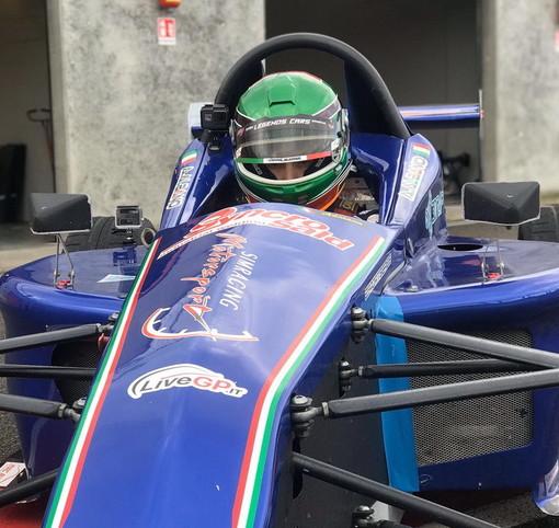 Automobilismo: il sanremese Kevin Liguori subito in evidenza al volante della 'Formula Predator' (Foto e Video)