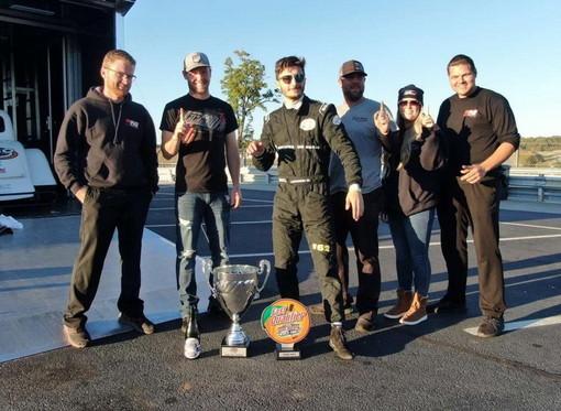 Legend Cars: un ringraziamento speciale per un'impresa speciale, il campione del mondo Kevin Liguori ringrazia gli sponsor